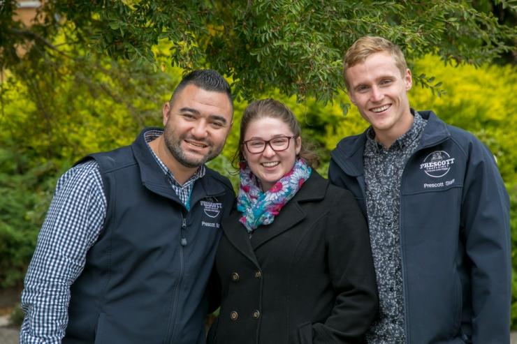 Pastor Siutu , Miss Walsh & Pastor Townend